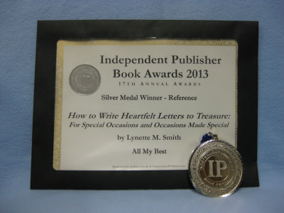 2013 Independent Publisher Book Awards certificate